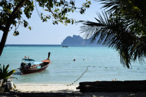 The sea of Koh Phi Phi in Thailand