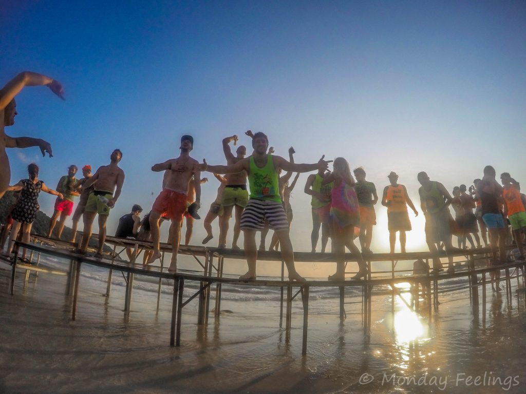 Staying till sunrise at the Full Moon Party 2019