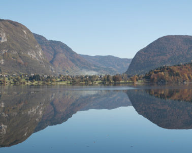 Bohinj Lake, one of the best things to do in Slovenia