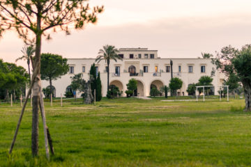 The main house of a masseria in Puglia
