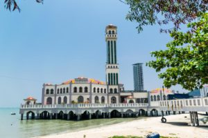 The floating mosque of Penanga, Malaysia