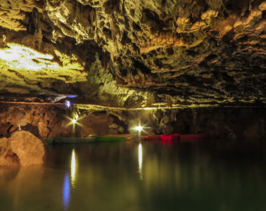 Largest water cave in the world in Iran